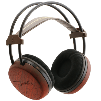 Jubilate 64 Hi-Fi circum-aural headphones with wooden cups