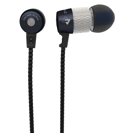 Fischer Audio Dubliz in-ear headphones with remote and mic