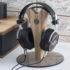 Headphones stand Huginn by Kennerton Audio